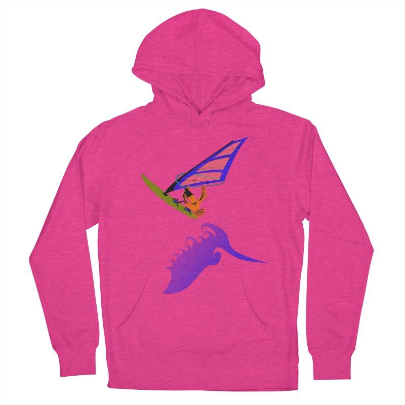 Windsurfing  Women's Pullover Hoody by kouzza's Artist Shop