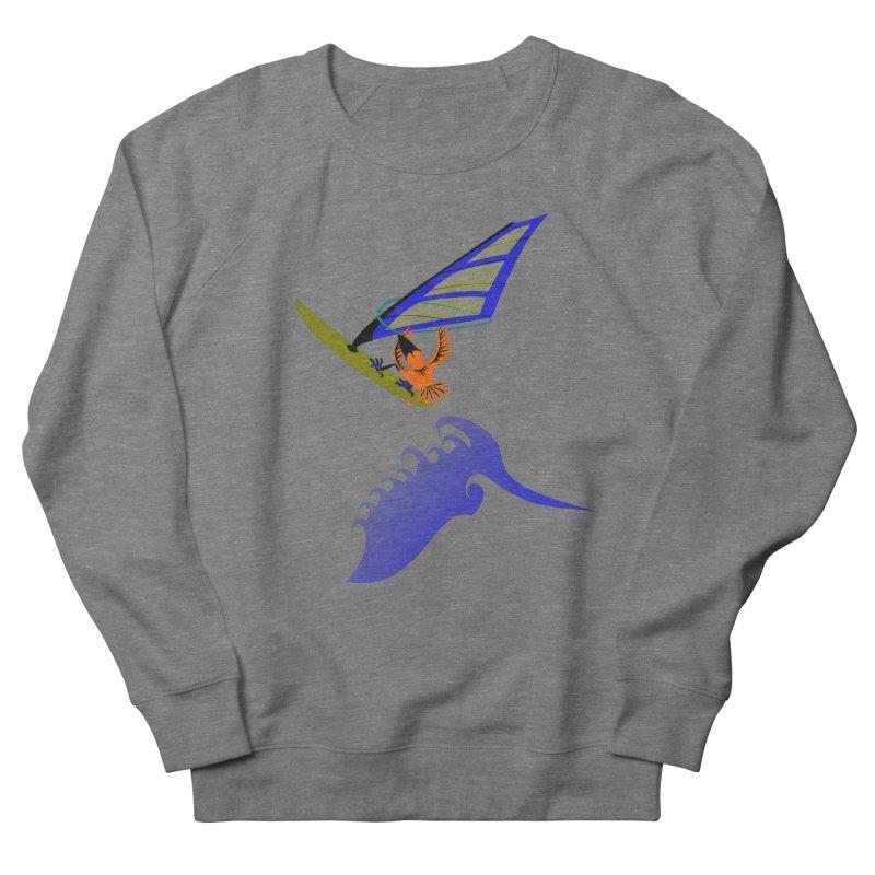 Windsurfing  Women's Sweatshirt by kouzza's Artist Shop