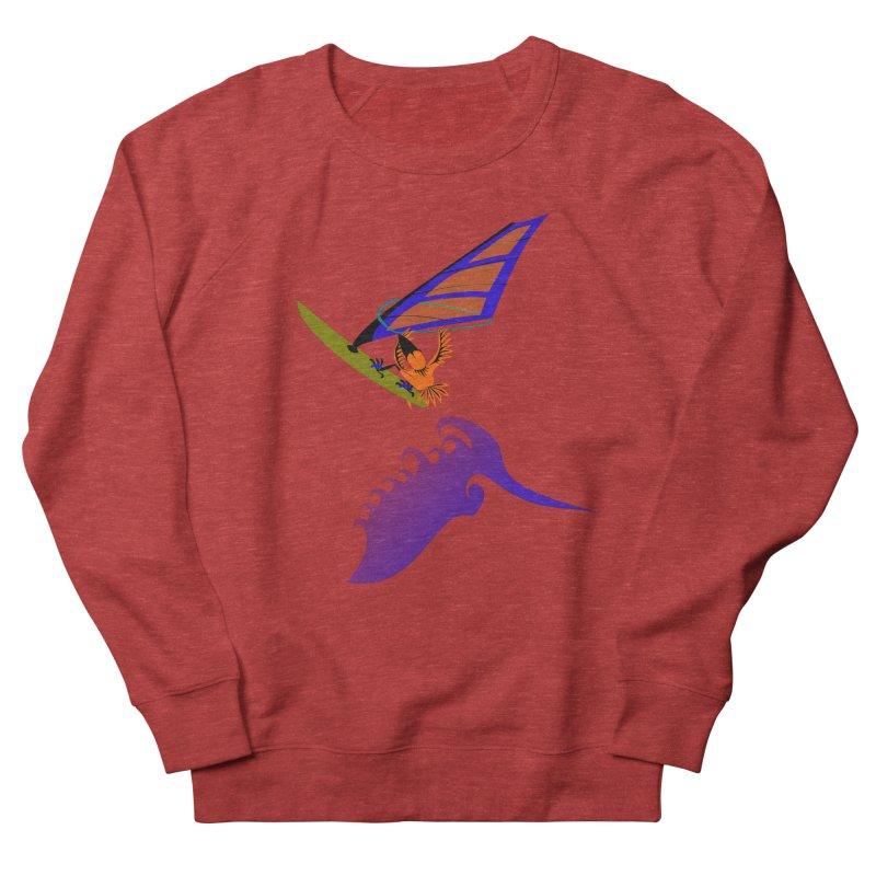 Windsurfing  Men's Sweatshirt by kouzza's Artist Shop