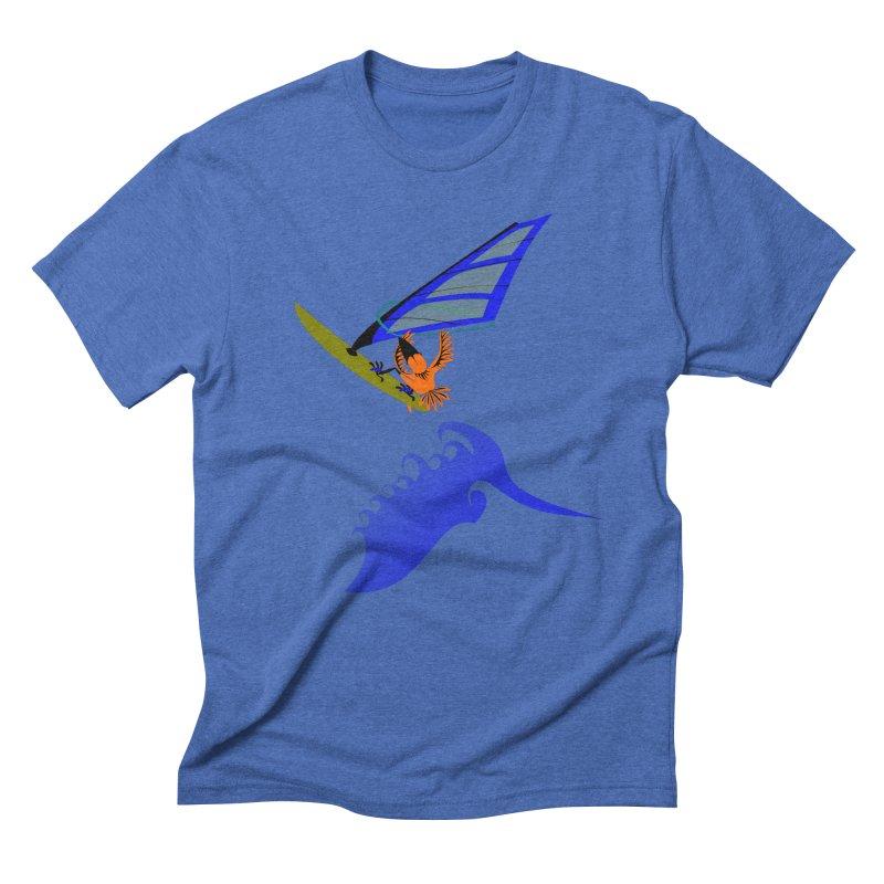 Windsurfing  Men's T-Shirt by kouzza's Artist Shop
