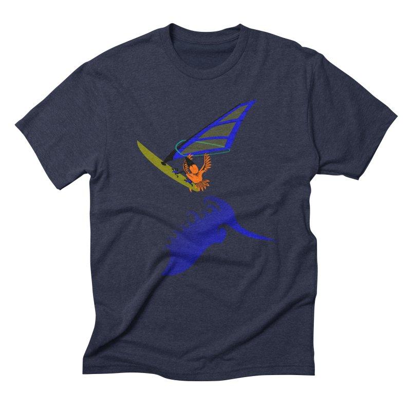 Windsurfing  Men's Triblend T-Shirt by kouzza's Artist Shop