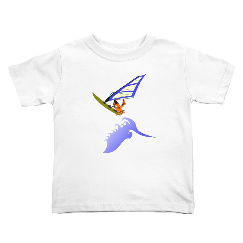 Windsurfing  Kids  by kouzza's Artist Shop