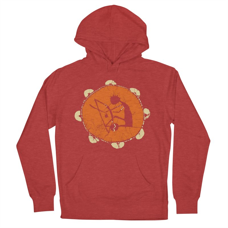 Berimbau Men's French Terry Pullover Hoody by kouzza's Artist Shop