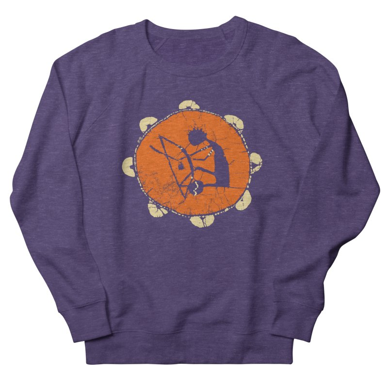 Berimbau Women's French Terry Sweatshirt by kouzza's Artist Shop