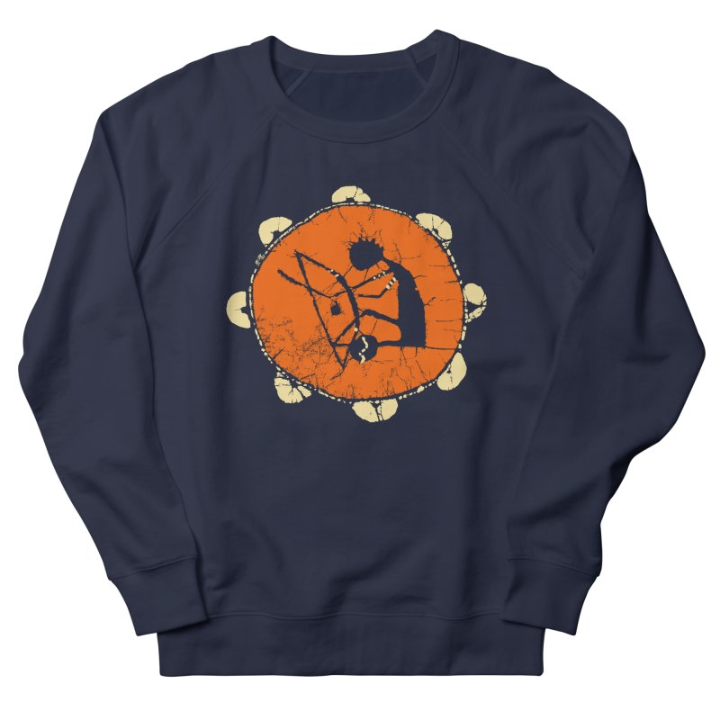 Berimbau Men's French Terry Sweatshirt by kouzza's Artist Shop