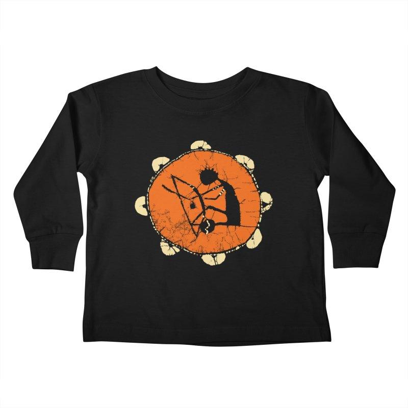 Berimbau Kids Toddler Longsleeve T-Shirt by kouzza's Artist Shop