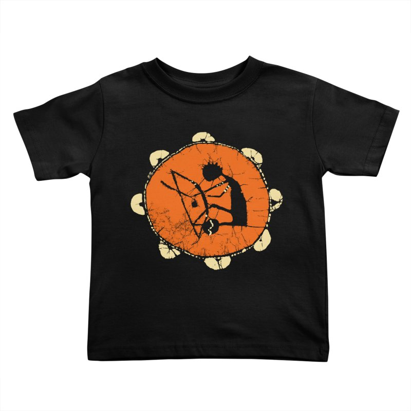 Berimbau Kids Toddler T-Shirt by kouzza's Artist Shop