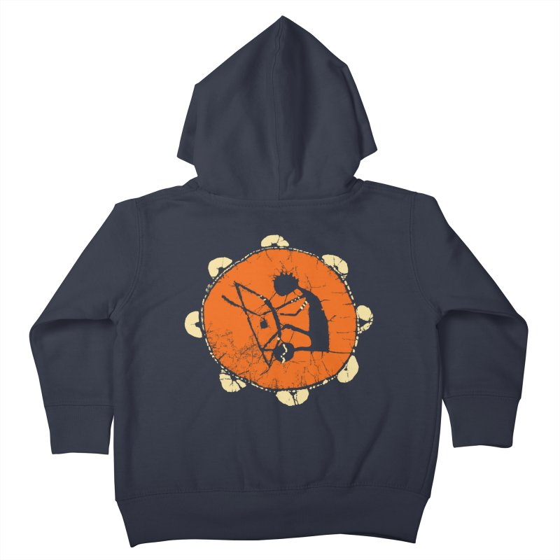 Berimbau Kids Toddler Zip-Up Hoody by kouzza's Artist Shop