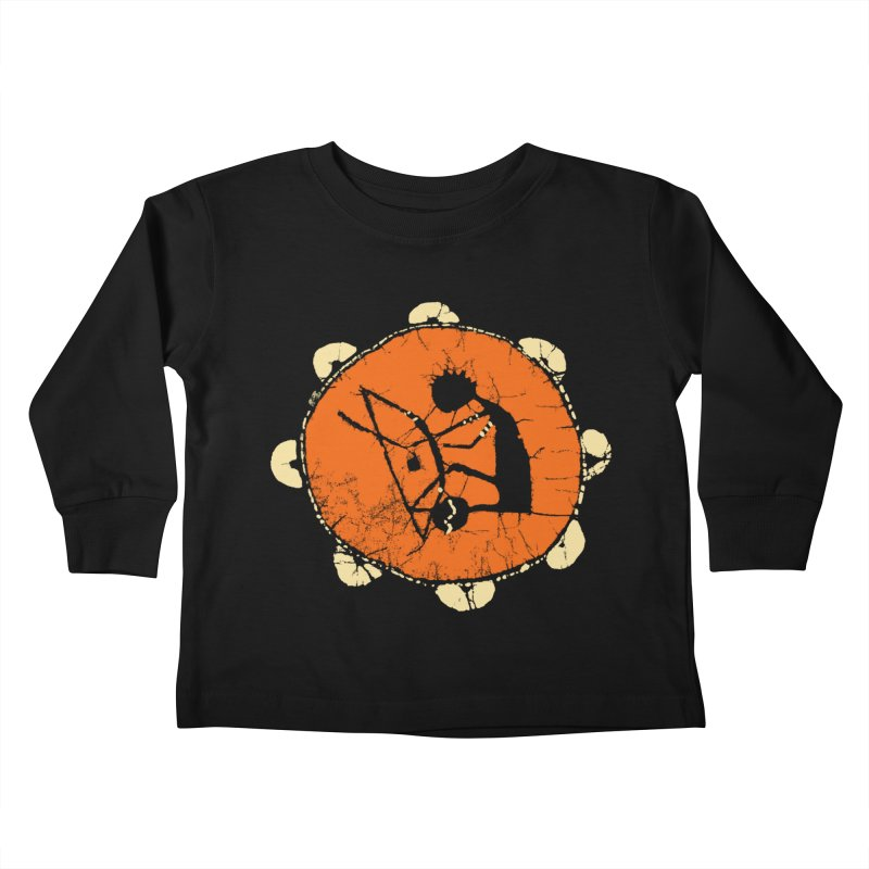 Berimbau Kids Toddler Longsleeve T-Shirt by kouzza's Artist Shop