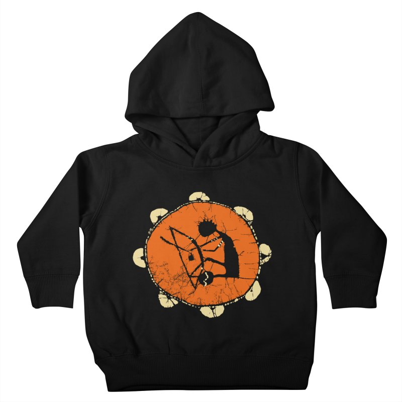 Berimbau Kids Toddler Pullover Hoody by kouzza's Artist Shop