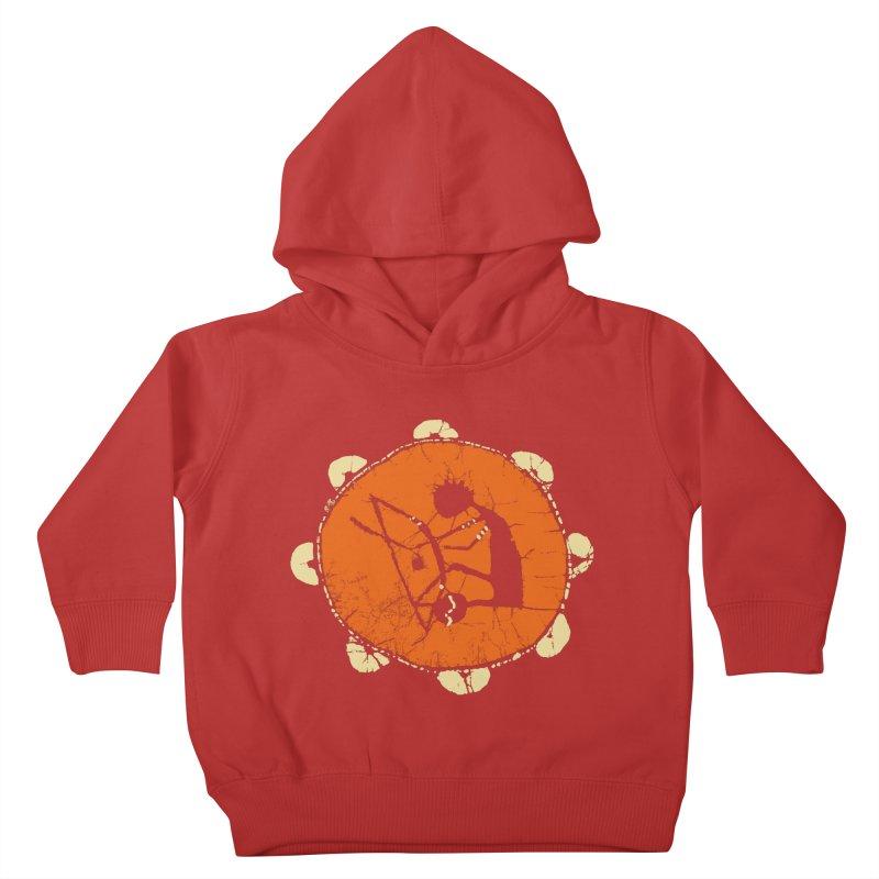 Berimbau Kids Toddler Pullover Hoody by kouzza's Artist Shop