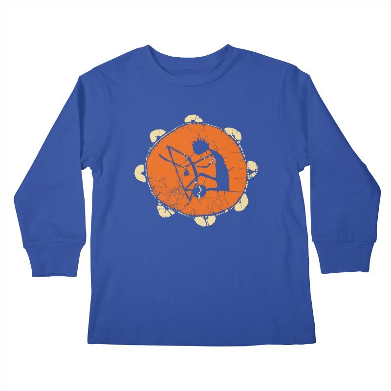 Berimbau Kids Longsleeve T-Shirt by kouzza's Artist Shop