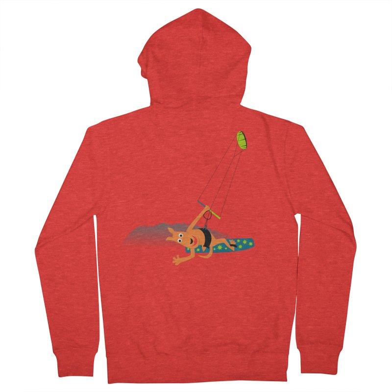 Kitesurfer Women's Zip-Up Hoody by kouzza's Artist Shop