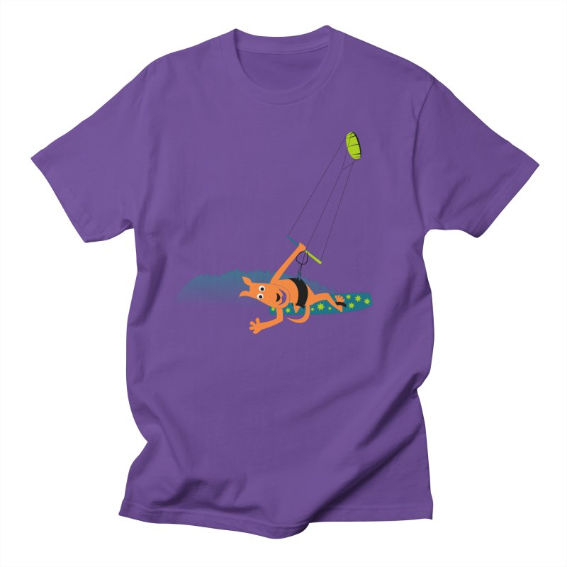 Kitesurfer Men's Regular T-Shirt by kouzza's Artist Shop