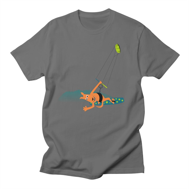 Kitesurfer Men's T-Shirt by kouzza's Artist Shop