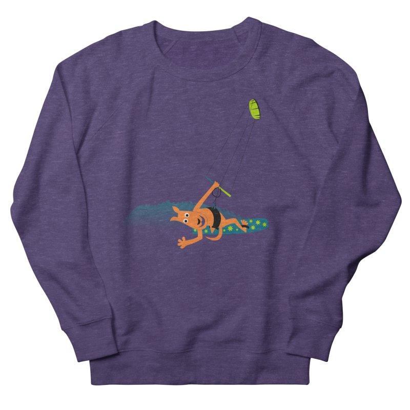 Kitesurfer Women's Sweatshirt by kouzza's Artist Shop