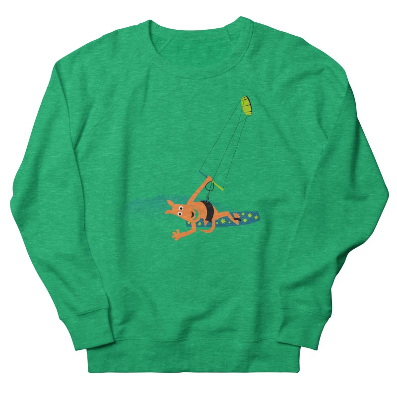 Kitesurfer Men's Sweatshirt by kouzza's Artist Shop