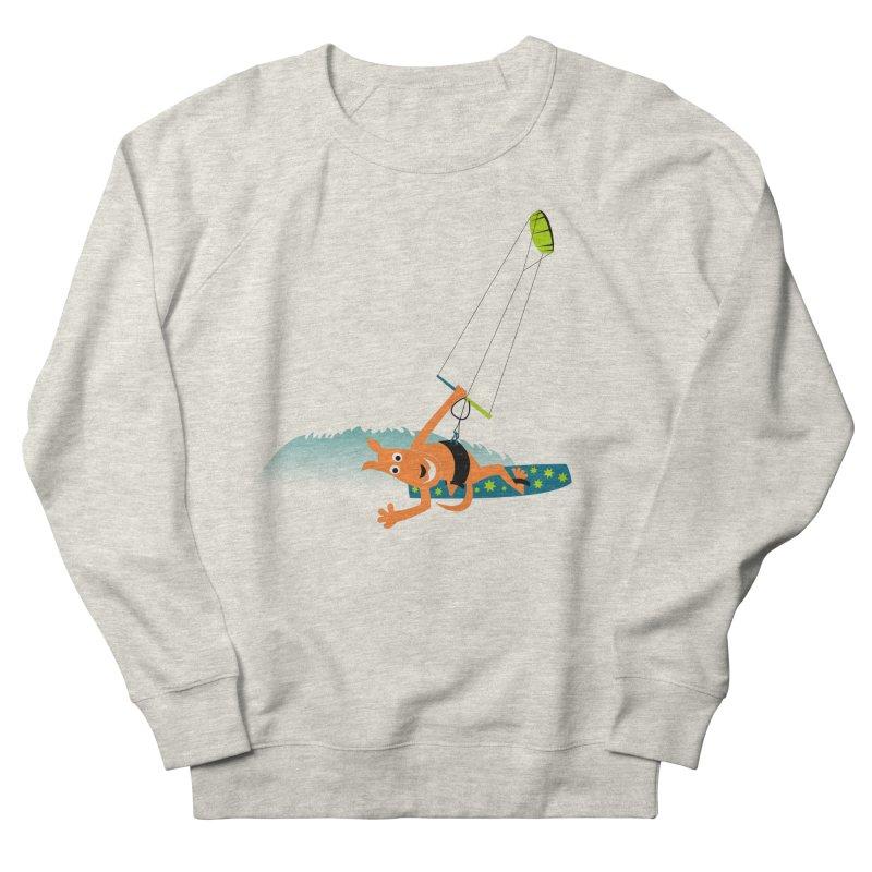 Kitesurfer Men's Sweatshirt by kouzza's Artist Shop