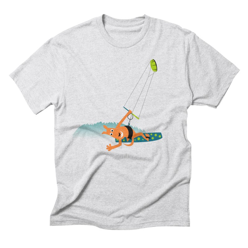 Kitesurfer Men's Triblend T-Shirt by kouzza's Artist Shop