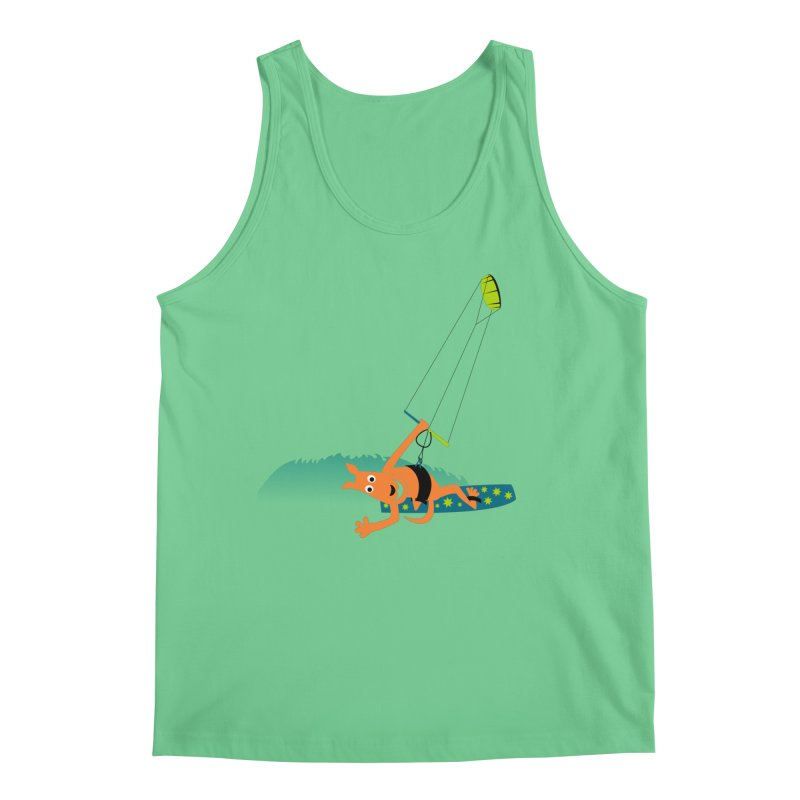 Kitesurfer Men's Regular Tank by kouzza's Artist Shop