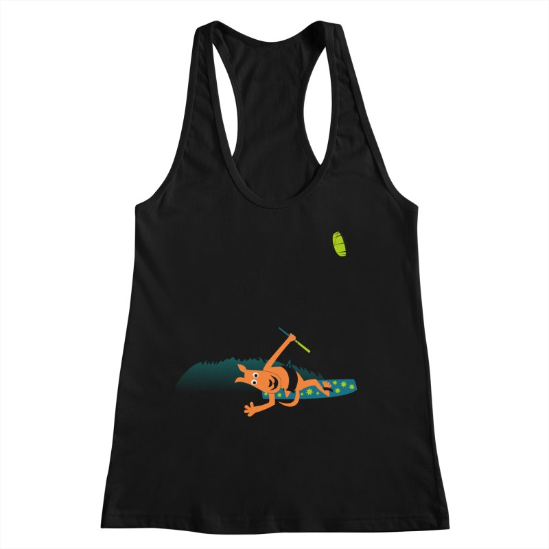 Kitesurfer Women's Tank by kouzza's Artist Shop