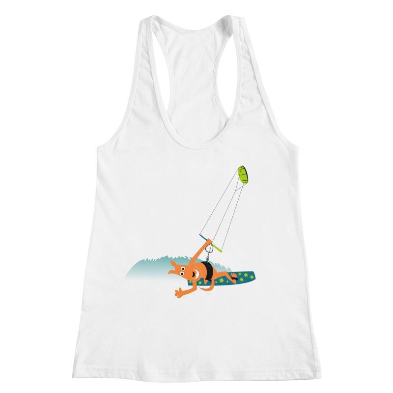Kitesurfer Women's Tank by kouzza's Artist Shop