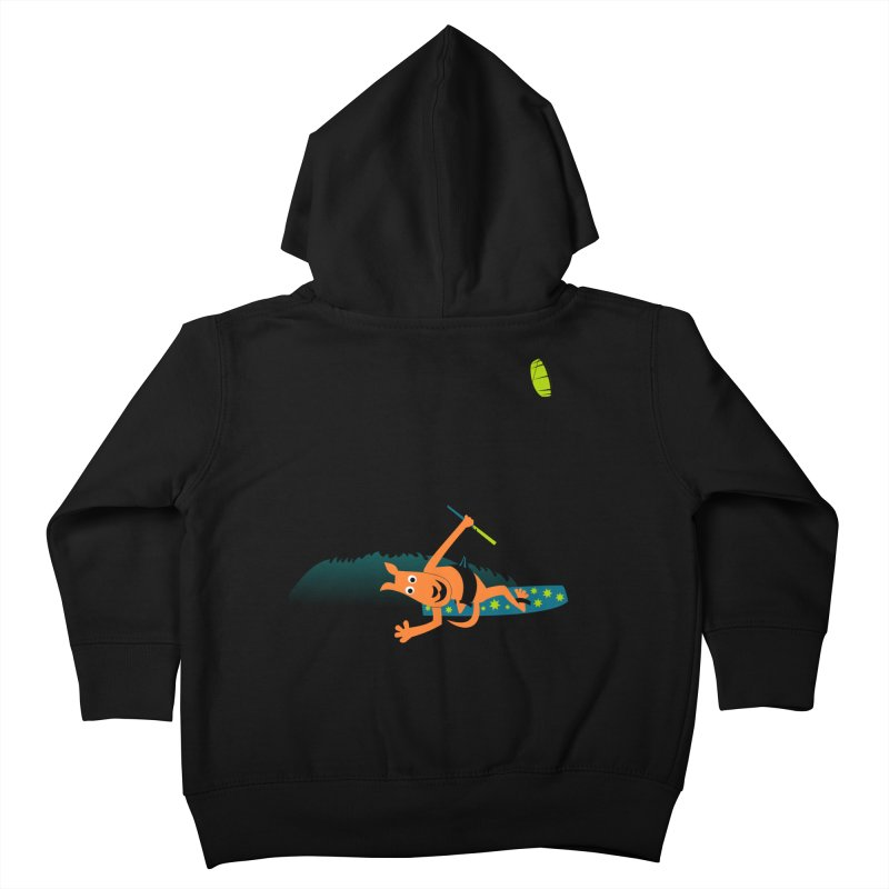Kitesurfer Kids Toddler Zip-Up Hoody by kouzza's Artist Shop