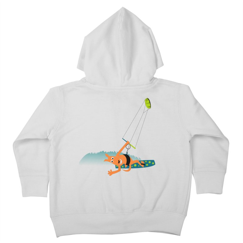 Kitesurfer Kids Toddler Zip-Up Hoody by kouzza's Artist Shop