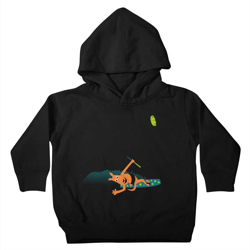 Kitesurfer Kids Toddler Pullover Hoody by kouzza's Artist Shop