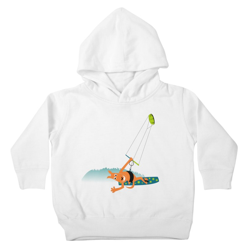 Kitesurfer Kids Toddler Pullover Hoody by kouzza's Artist Shop