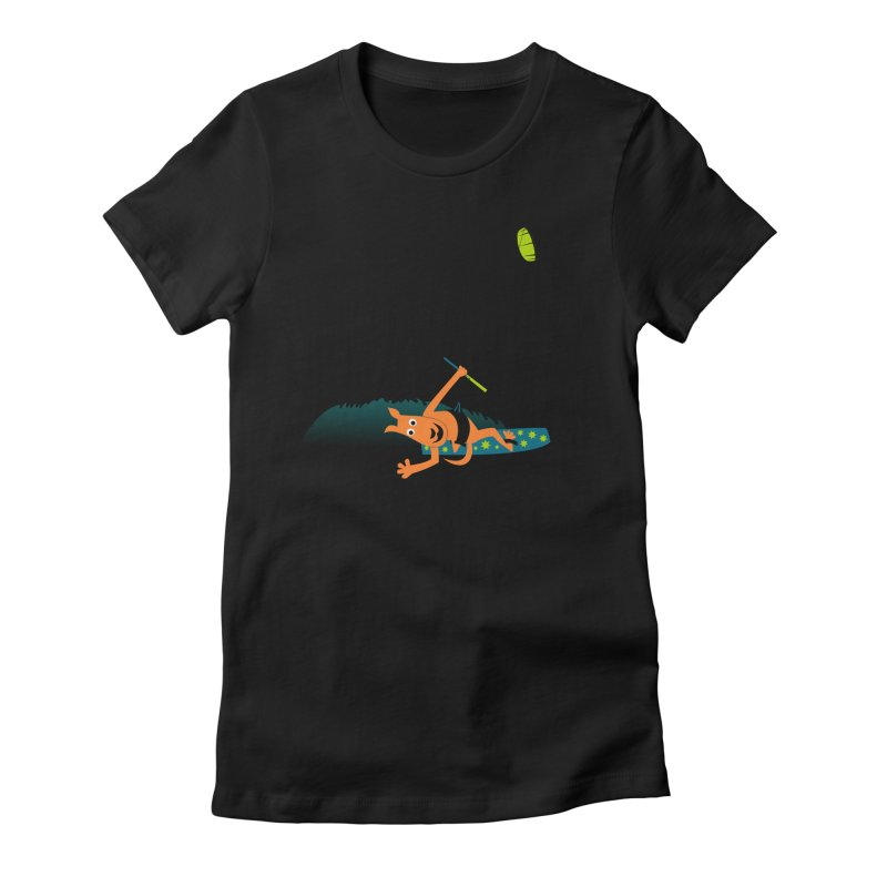 Kitesurfer Women's T-Shirt by kouzza's Artist Shop