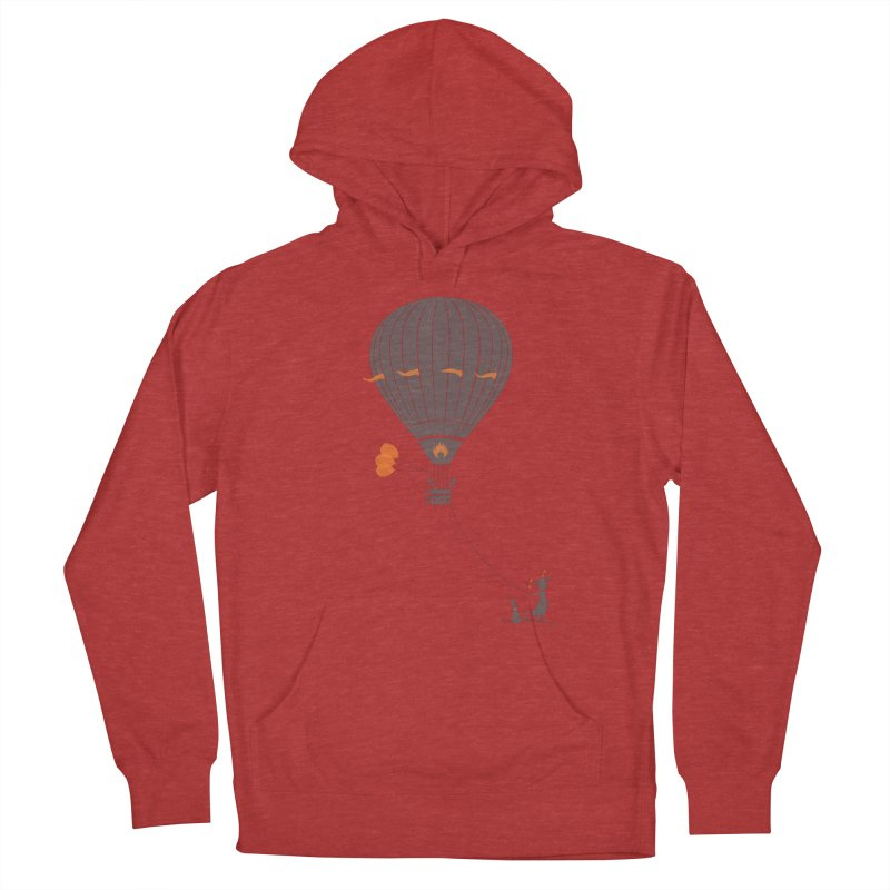 Air baloon Women's French Terry Pullover Hoody by kouzza's Artist Shop
