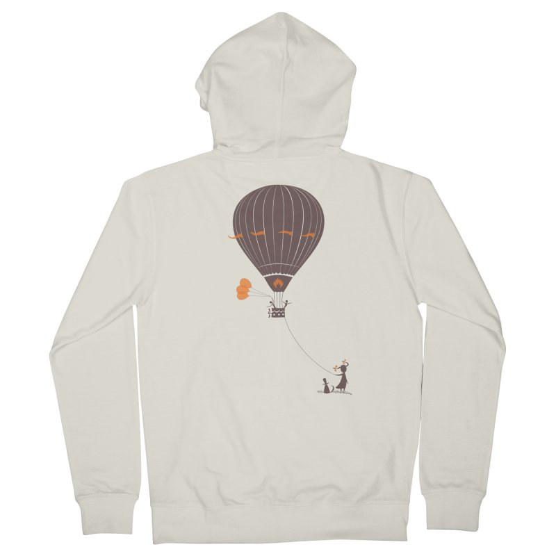 Air baloon Women's Zip-Up Hoody by kouzza's Artist Shop