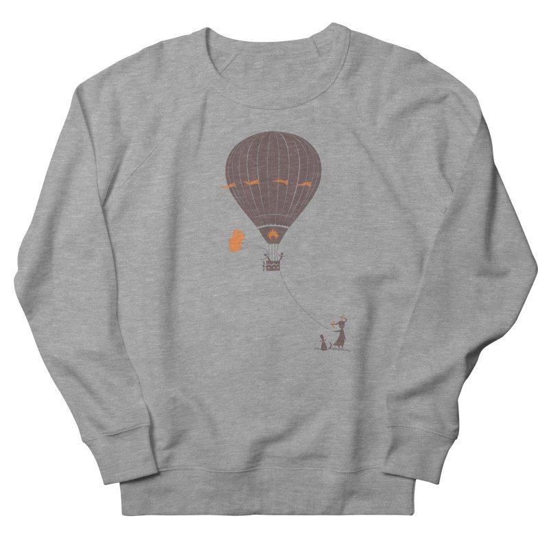 Air baloon Women's French Terry Sweatshirt by kouzza's Artist Shop