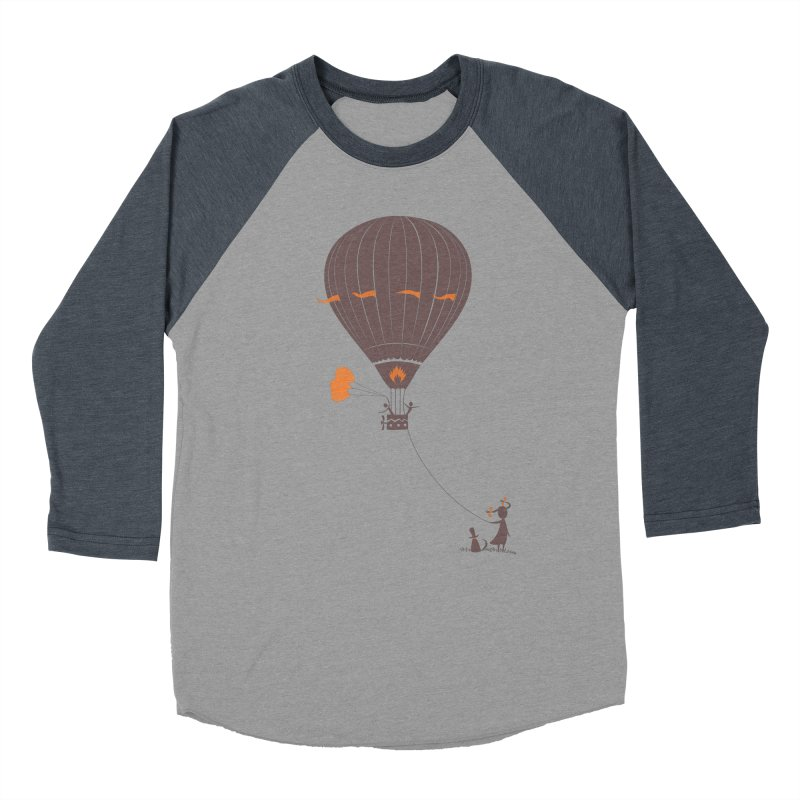 Air baloon Women's Baseball Triblend T-Shirt by kouzza's Artist Shop
