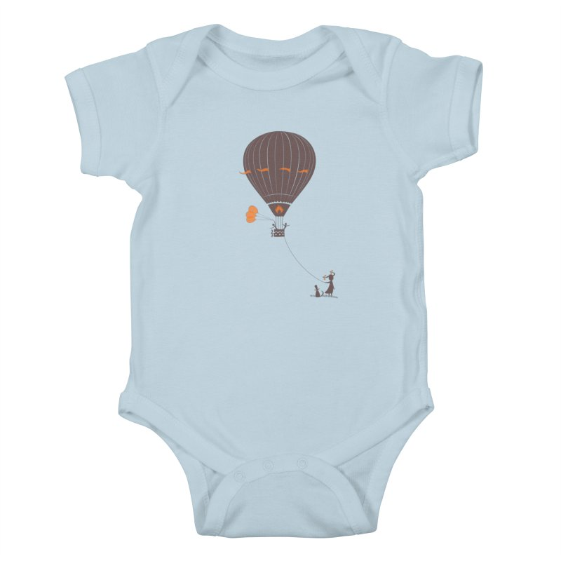 Air baloon Kids Baby Bodysuit by kouzza's Artist Shop