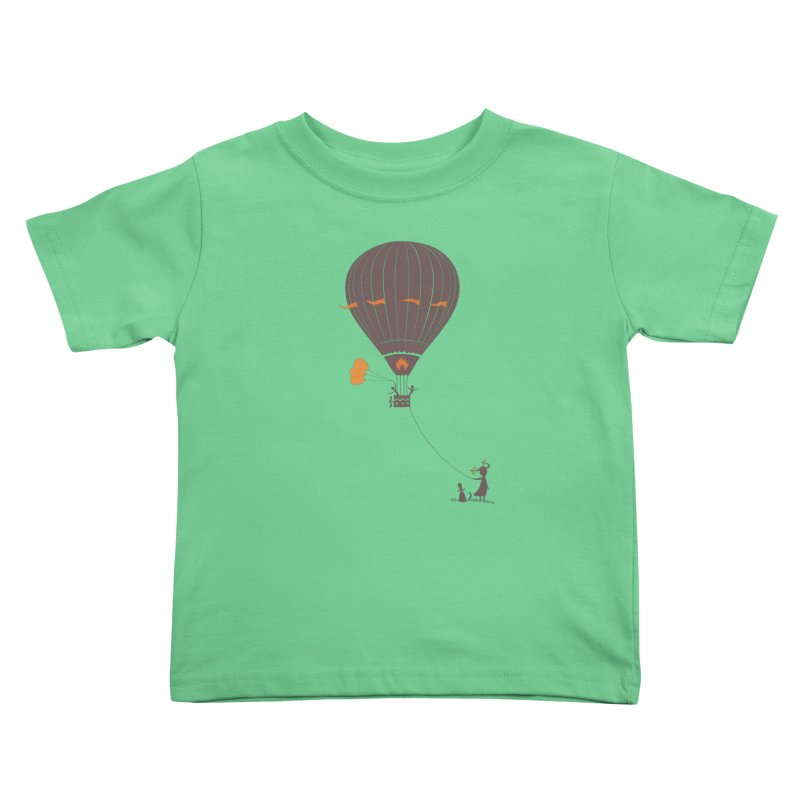 Air baloon Kids  by kouzza's Artist Shop