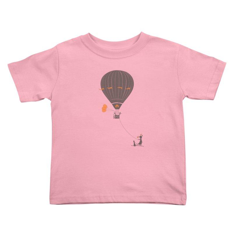 Air baloon Kids Toddler T-Shirt by kouzza's Artist Shop