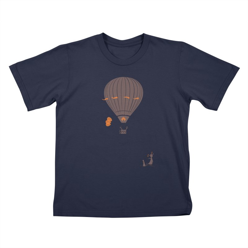 Air baloon Kids T-Shirt by kouzza's Artist Shop