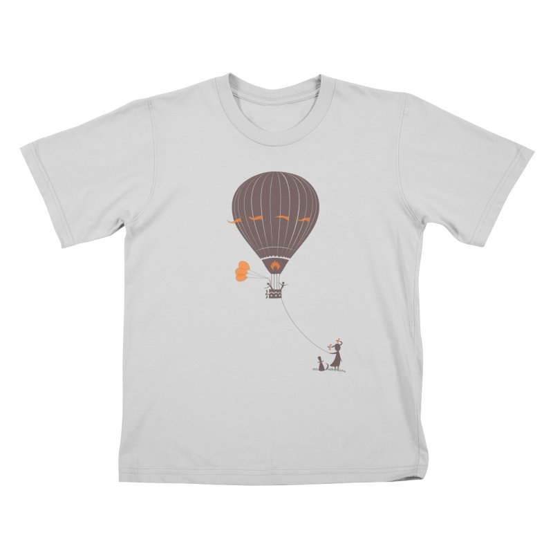 Air baloon Kids T-Shirt by kouzza's Artist Shop