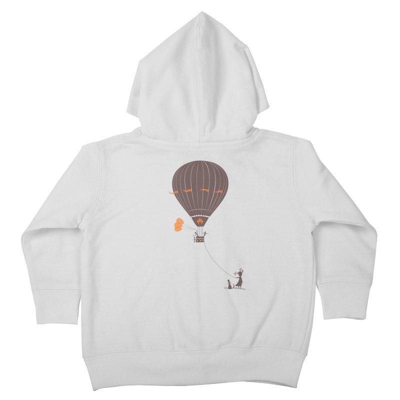 Air baloon Kids Toddler Zip-Up Hoody by kouzza's Artist Shop