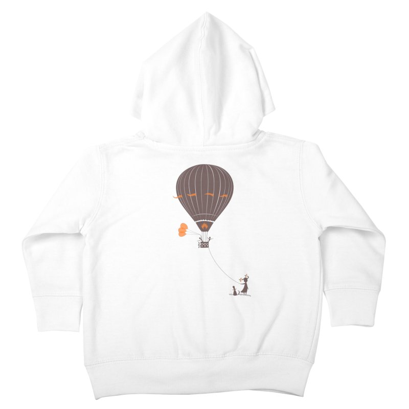 Air baloon Kids Toddler Zip-Up Hoody by kouzza's Artist Shop