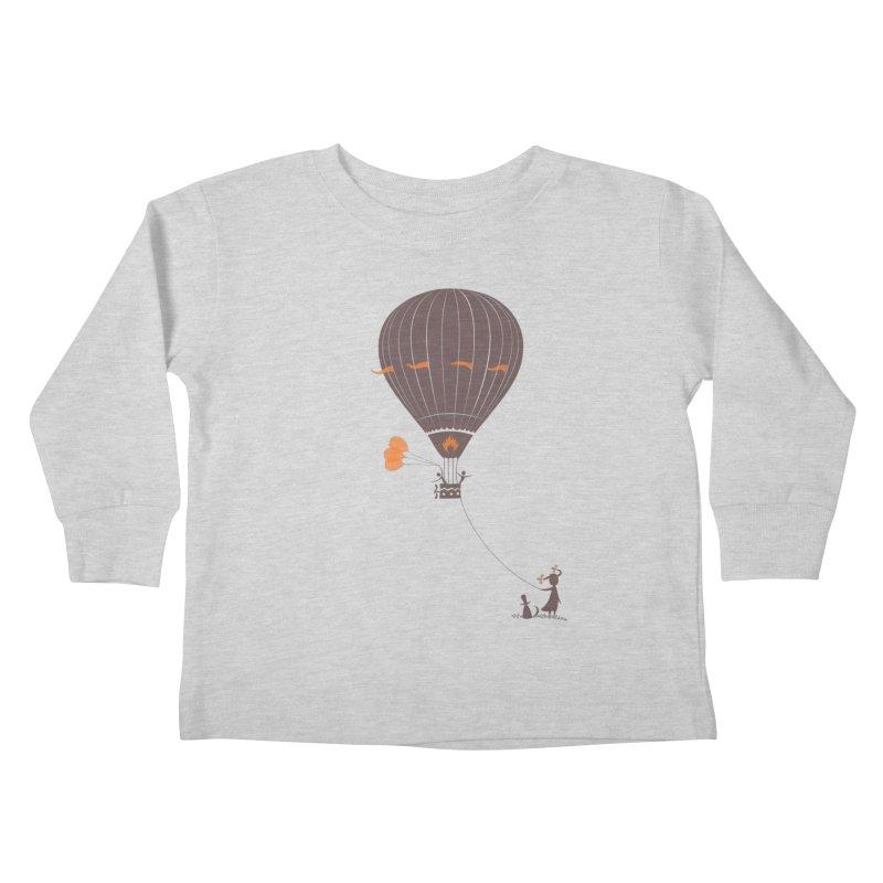 Air baloon Kids Toddler Longsleeve T-Shirt by kouzza's Artist Shop