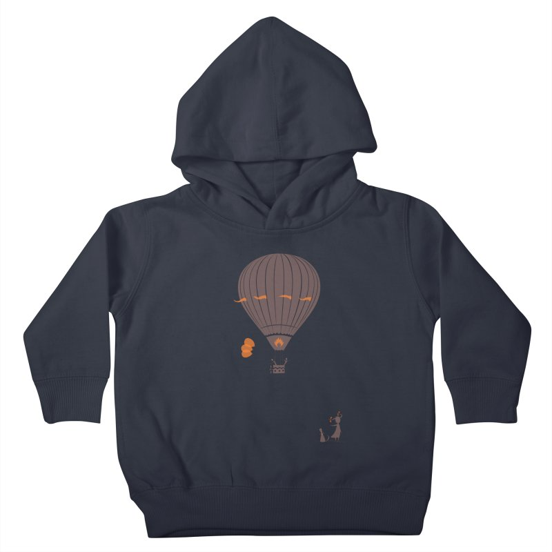 Air baloon Kids Toddler Pullover Hoody by kouzza's Artist Shop