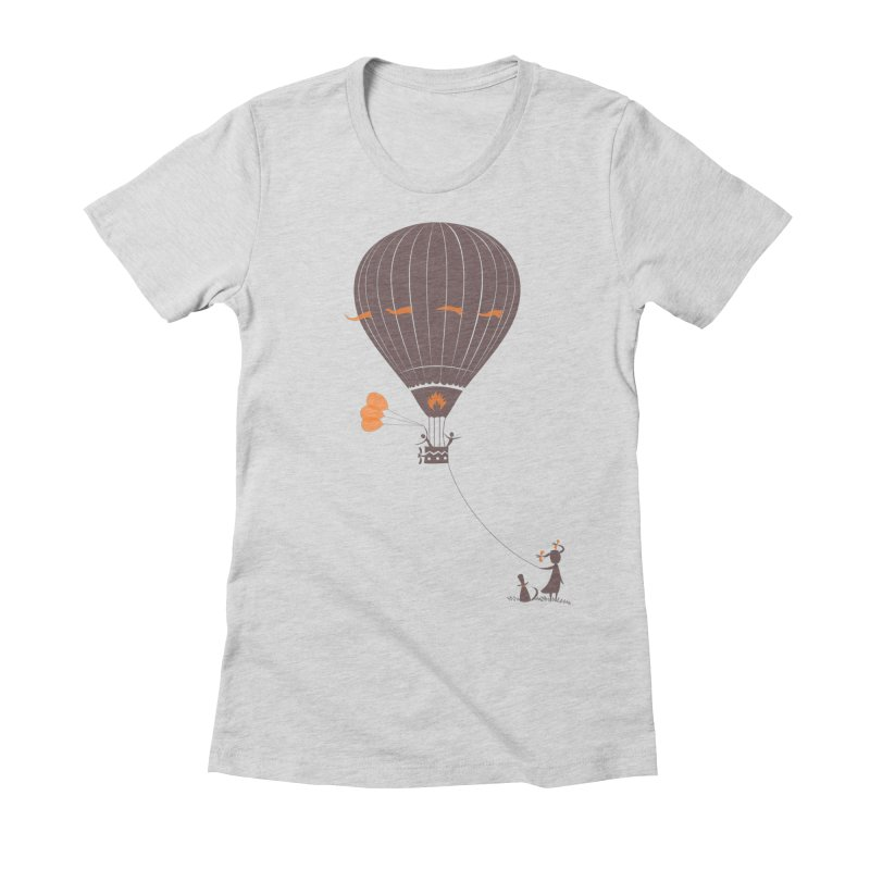 Air baloon Women's T-Shirt by kouzza's Artist Shop