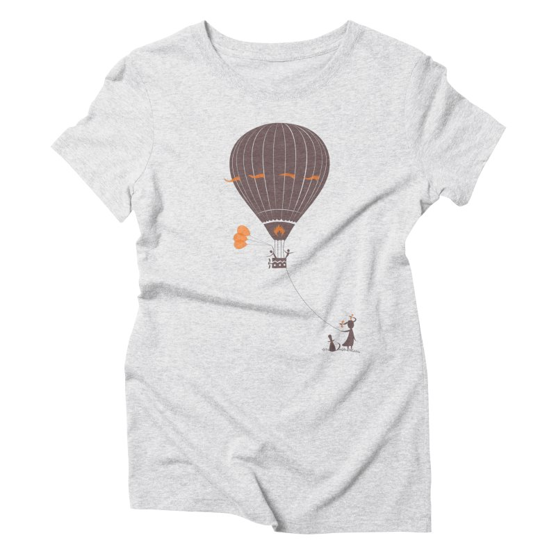 Air baloon Women's Triblend T-Shirt by kouzza's Artist Shop