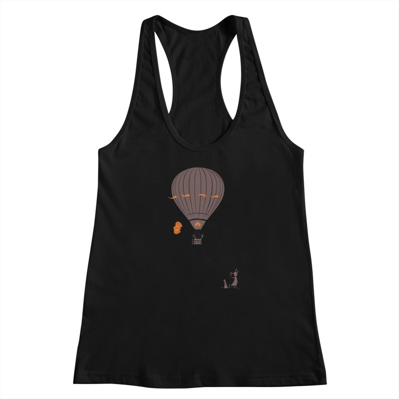 Air baloon Women's Racerback Tank by kouzza's Artist Shop
