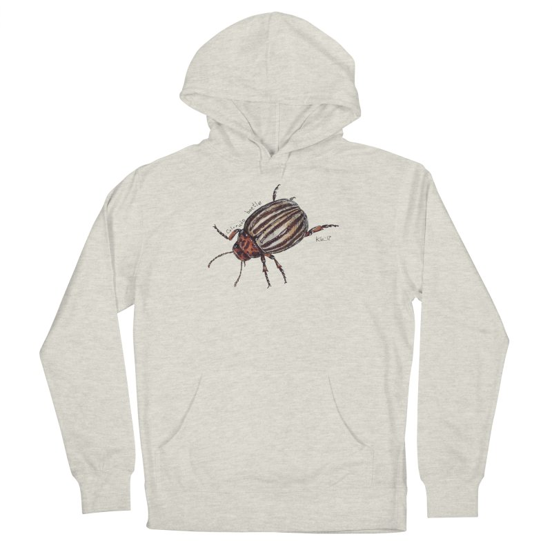 Colorado beetle Women's French Terry Pullover Hoody by kouzza's Artist Shop