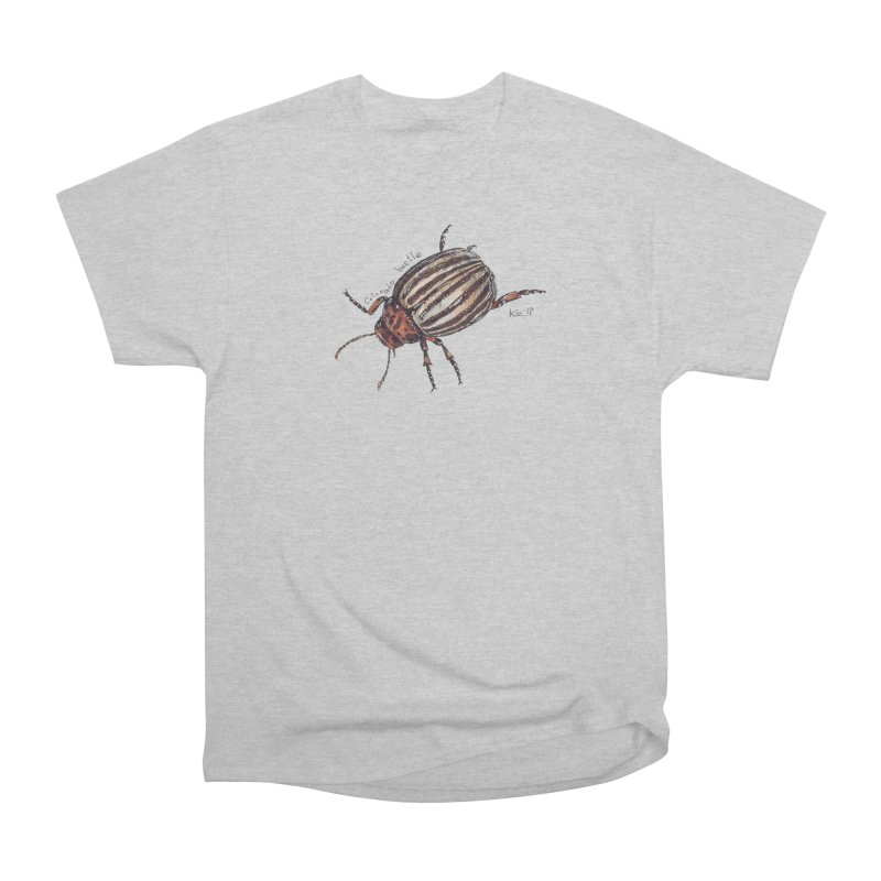 Colorado beetle Men's Heavyweight T-Shirt by kouzza's Artist Shop