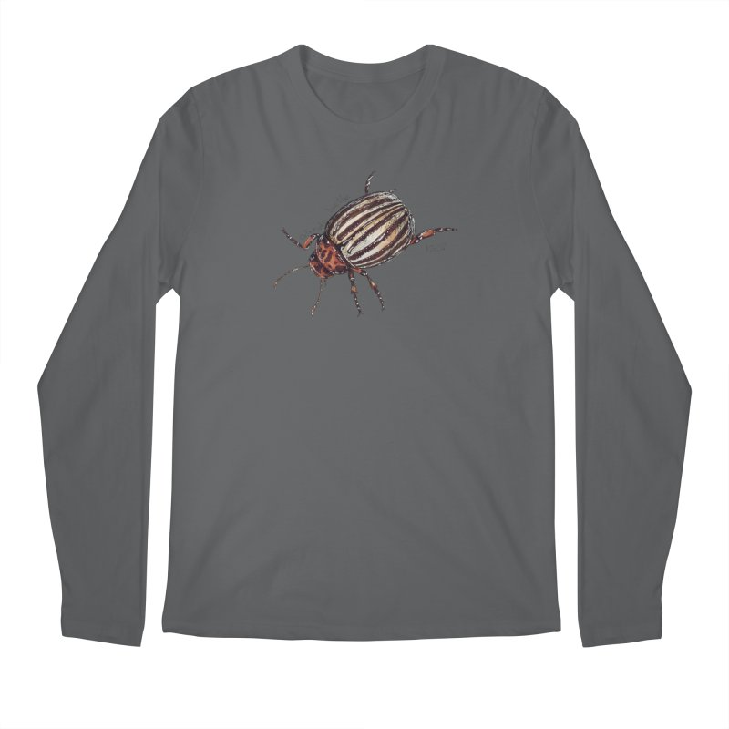 Colorado beetle Men's Longsleeve T-Shirt by kouzza's Artist Shop
